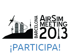 Barcelona AirSim Meeting 2013